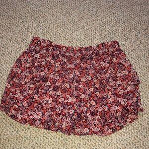 Layered Flowy shorts